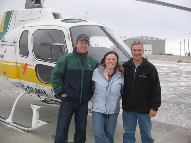 Visite privée en hélicoptère