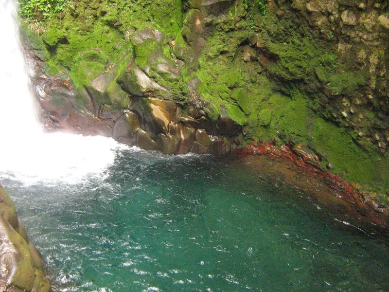 Paysage féerique du Costa Rica