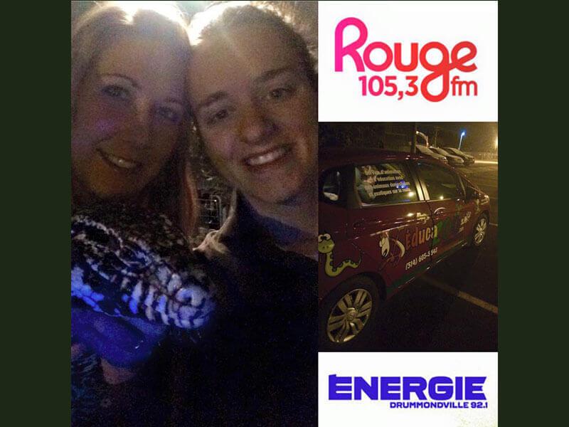 Radio Énergie 92,1 et Rouge FM 105,3