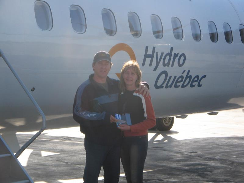 Merci Hydro-Québec!