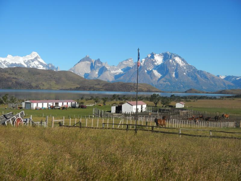 Ranch typique en Patagonie