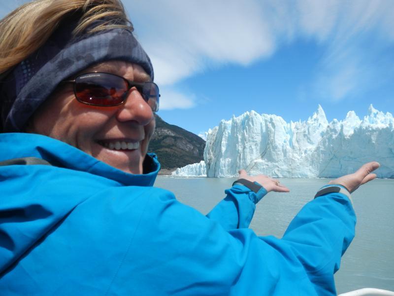 On soulève des glaciers